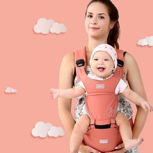 Baby Carrier 0-30 Months Breathable Front Facing 20kg Infant Backpack Hip Seat 3 in 1 Comfortable Sling Newborn Adjustable Wrap