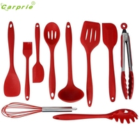 New Arrival Silicone Cooking Utensils Set Of 10pc Premium Heat Resistant Baking Tool Activing M20X17