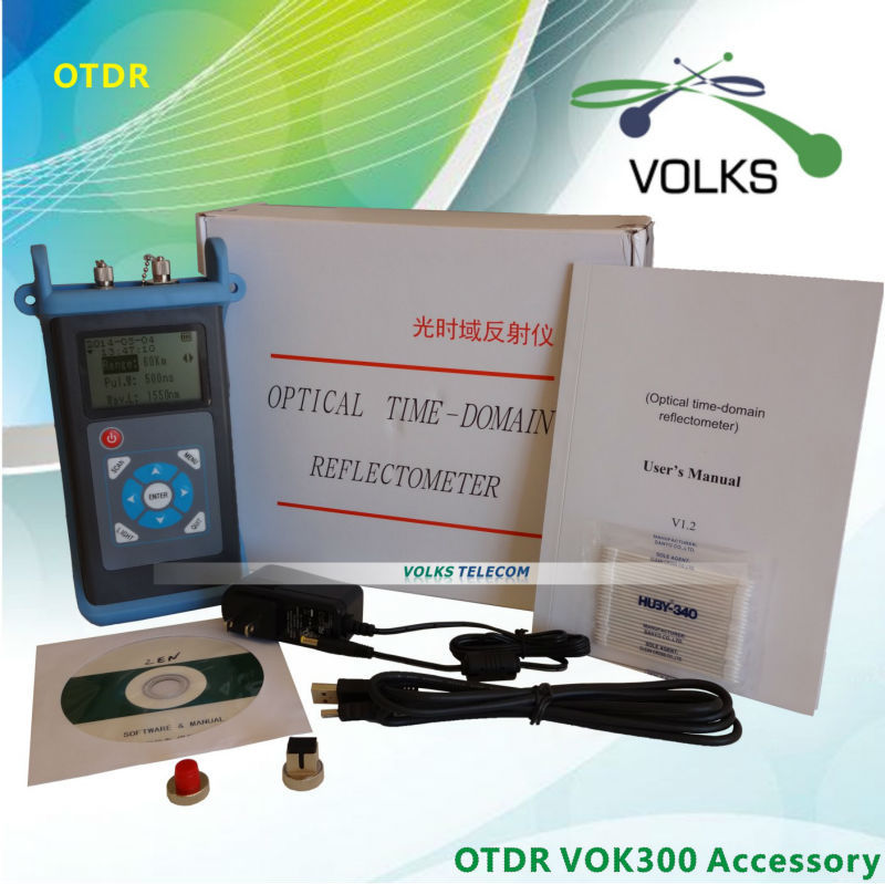 Fiber optique instrument de test OTDR VOK300D