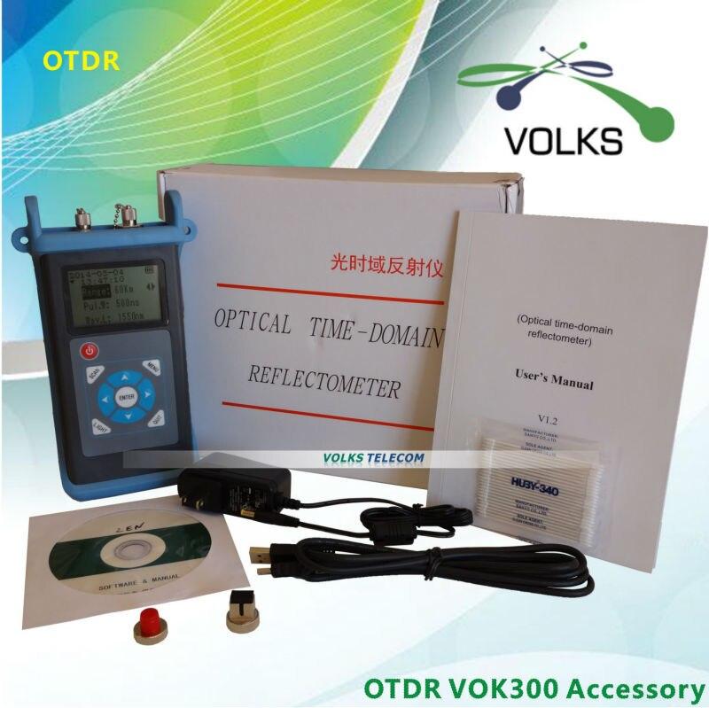 Instrument dessai de fiber optique OTDR VOK300DInstrument dessai de fiber optique OTDR VOK300D
