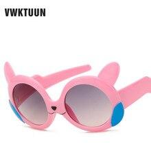 VWKTUUN/Новые модные детские очки в летнем стиле; дизайнерские круглые очки с героями мультфильмов для малышей;
