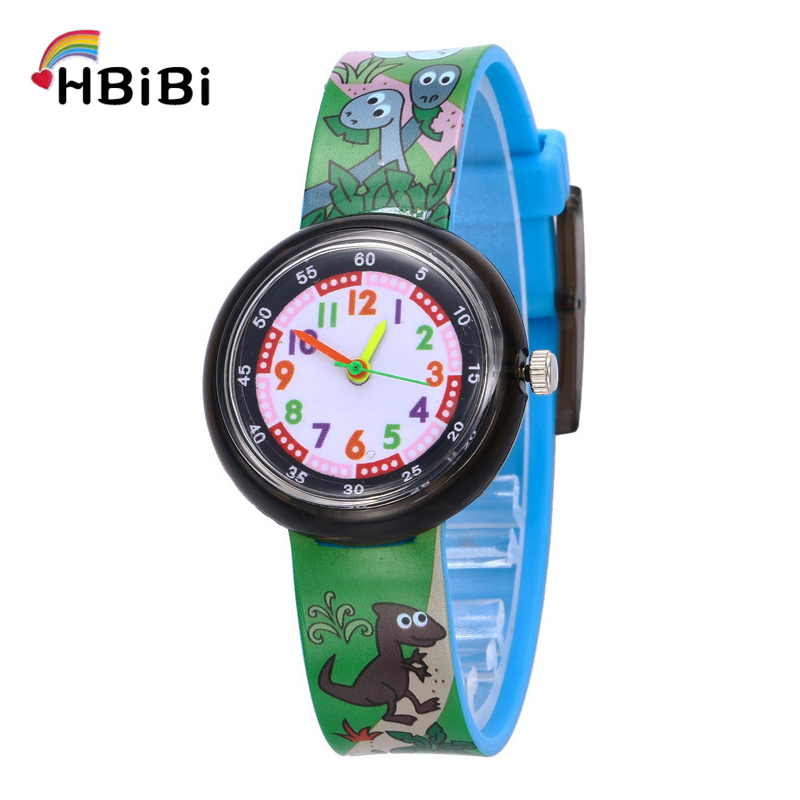 8 Style Animals Popular Kids Watches For Student Girls Boys Clock Casual Children's Watches Fresh Soft Sister Child Wrist Watch