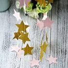 3m Pink Gold Star Pa...
