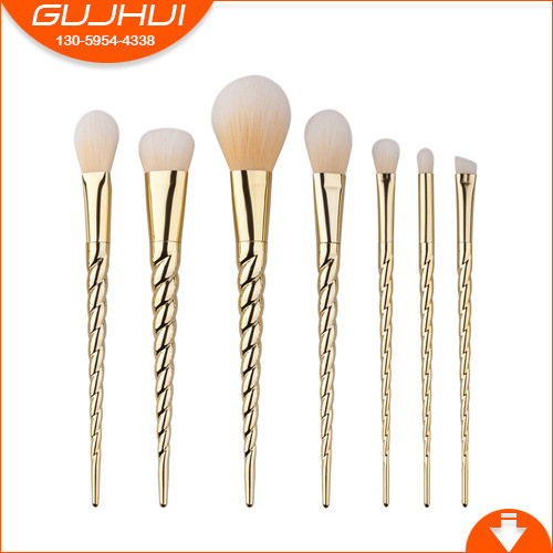 7 Unicorn Makeup Brush Sets, Beauty Tools, New Sets, Sweeping New GUJHUI Rhyme rock y10 stereo headphone microphone stereo bass wired earphone headset for computer game with mic