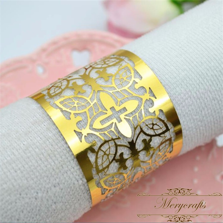 New design wedding napkin ring baby shower party ideals for A t design decoration co ltd