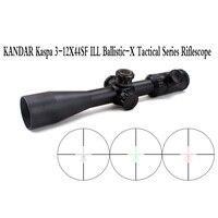Тактический KANDAR Kaspa 3 12X44SFIR ILL Ballistic X Riflescope страйкбол Воздушный пистолет стрельба Охота прицел