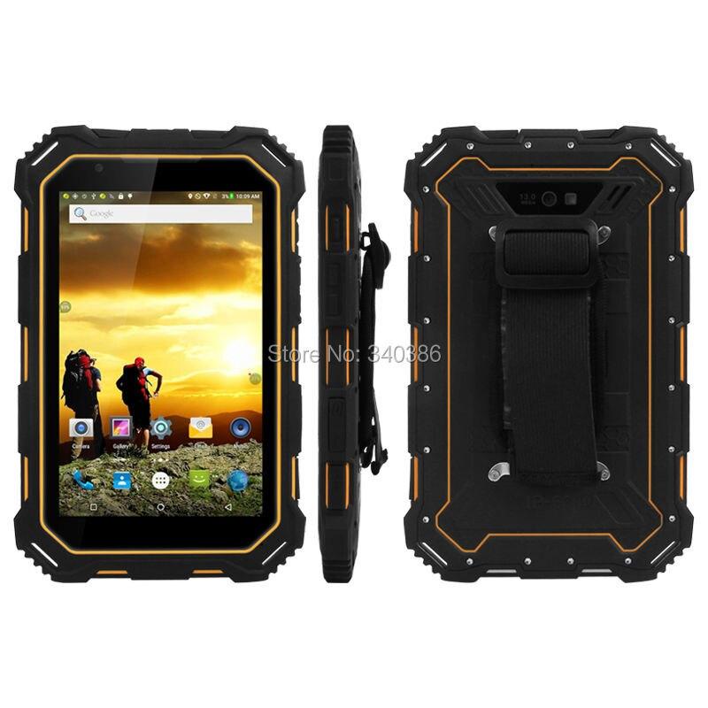 Цена за Оригинальный 4 Г LTE Quad Core Alps S933L IP68 Водонепроницаемый Прочный Tablet PC Android 13.0MP Камера 7000 мАч Большой Батареи Планшетный OTG NFC