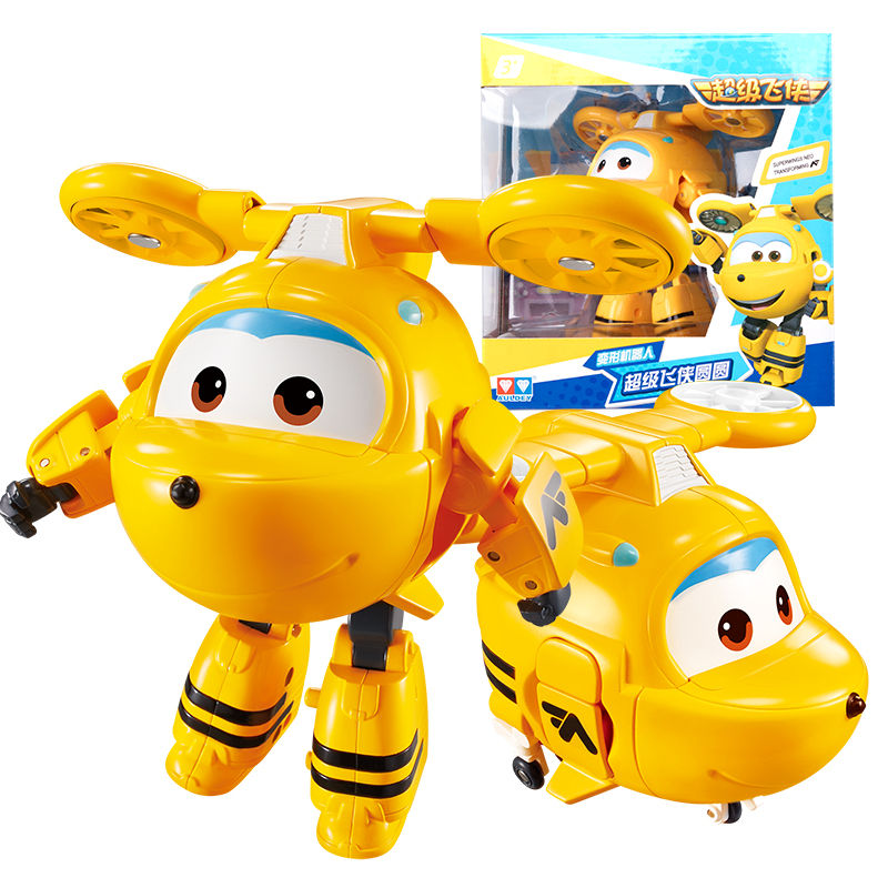 Newest Season Big Super Wings Neo Deformation Airplane Robot Action Figures Super Wing Transformation Toys