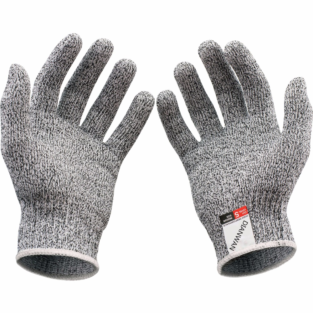 Leather work gloves ireland - Hot Kev Lar Gloves Proof Protect Hppe Safety Mesh Butcher Anti Cutting Breathable Work Gloves