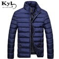 New 2016 Winter Jacket Men Casual Cotton Stand Collar Coats Brand Mens Solid  Parkas Men's Streetwear Padded Overcoat JZ1399