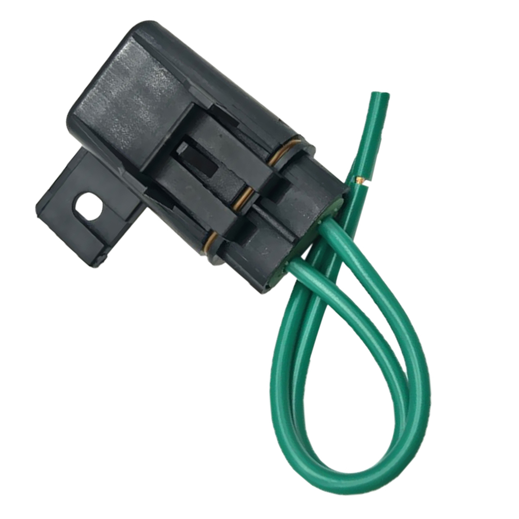 1 Set Car Truck Boat In-line Fuse Holder with Cover + 40A Medium Blade Fuse Media mecha moyennes Auto Replacement Parts