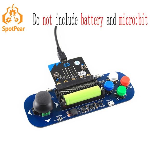 Bbcマイクロ:ビットゲームパッド拡張モジュールジョイスティックとボタンボード