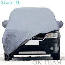 ВНЕДОРОЖНИК Полный Обложка Автомобилей водонепроницаемый Вс Снежной Пыли Дождь Устойчив Защита Размер XL