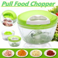 Manual Food Chopper Kitchen Pulling Multi Function Spiral Slicer Food Dicer Mincer Mixer Blender For Fruit