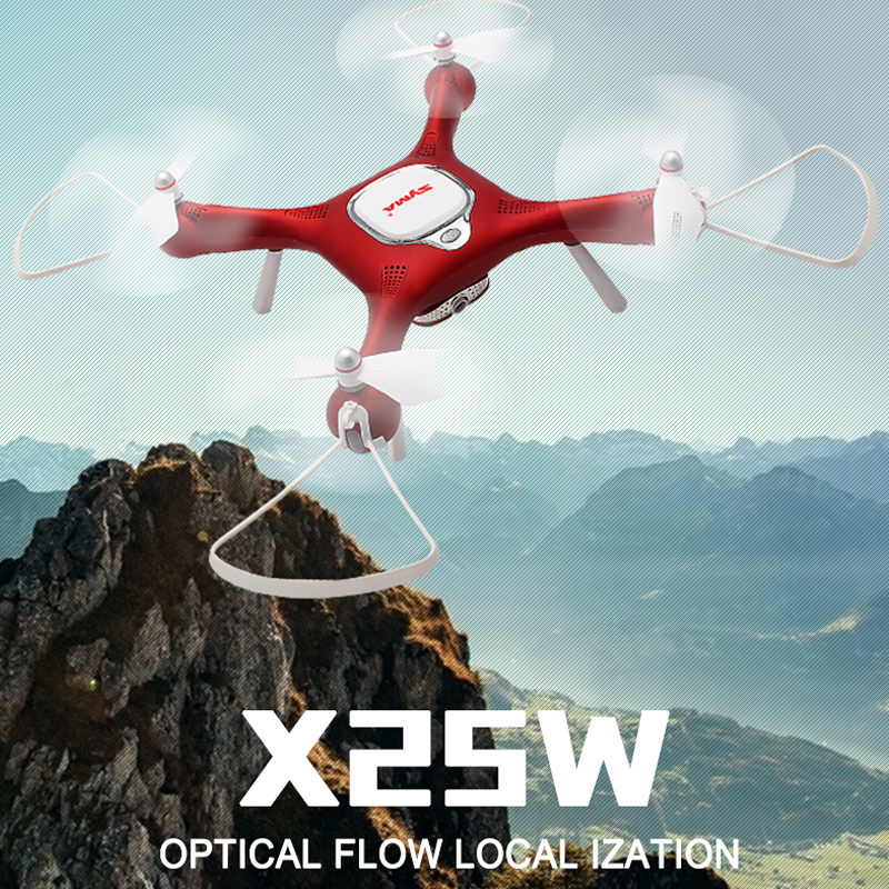 SYMA X25W Optical Flow RC Drone with 720P HD Camera Fixed Height Aerial Photograph FPV Quadcopter Helicopter VS SYMA X5SW X5UW syma f3 14