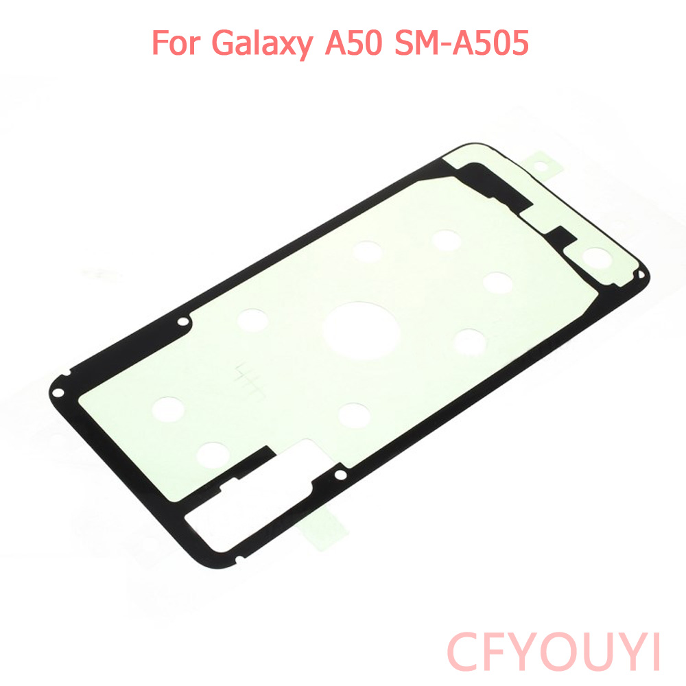 1~10pcs New Battery Door Back Cover Housing Adhesive Sticker Glue For Samsung Galaxy A50 A505