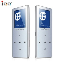 IQQ X01 MP4 Radio FM Touch Lossless Wireless Bluetooth MP4 Player 8G Voice Recording Video Thin Metal Portable Video Player цена и фото