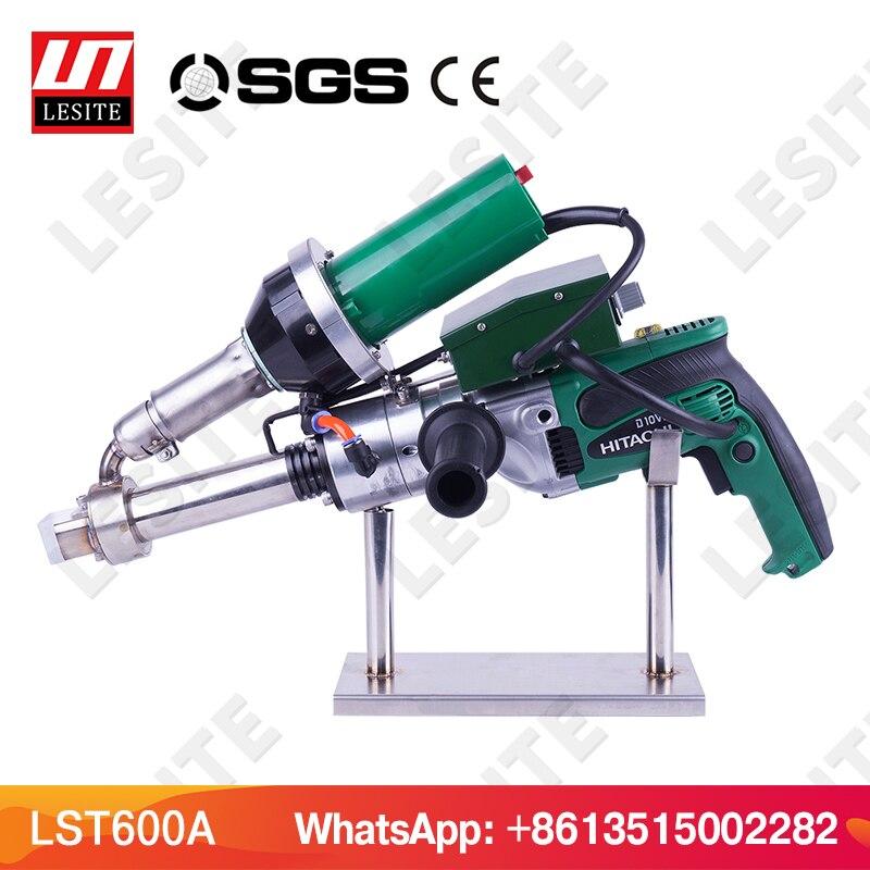 3400 W de extrusora de extrusión de plástico máquina de soldadura máquina de aire caliente soldador de plástico pistola de PP hoja de HDPE Geomembrana