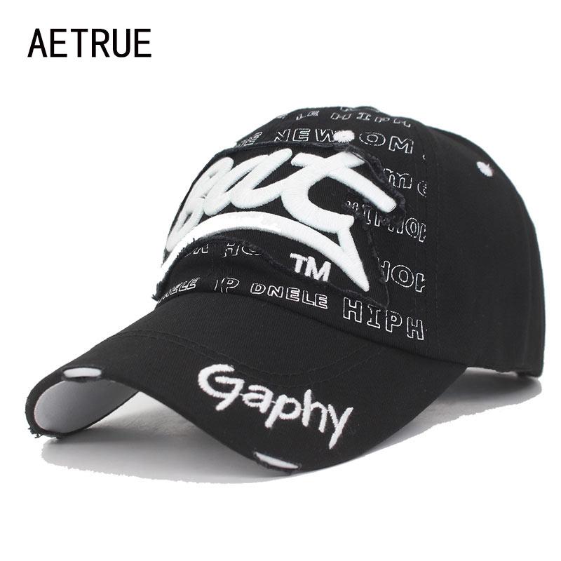AETRUE Snapback   Caps   Women   Baseball     Cap   Men Brand Hats For Men Bone Casquette Male Embroidery Black Gorras Fit Cheap Dad Hat   Cap