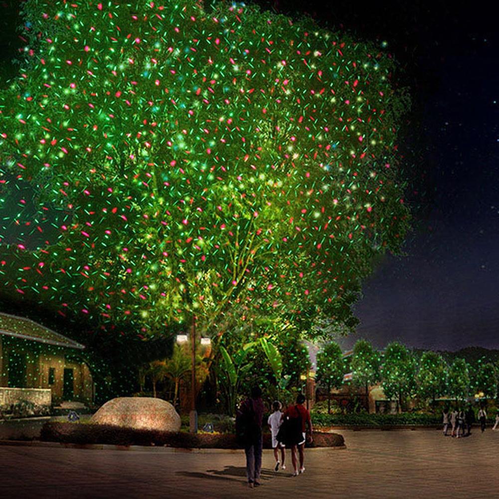 ღ ღR & G 110-265 V luz láser etapa impermeable al aire libre del ...