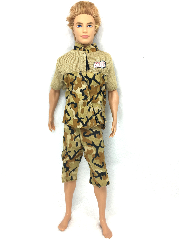 NK One Set Prince Doll Informal Handmade Garments Trend  Sport Garments Outfit Uniform For Barbie Boyfriend Ken Doll