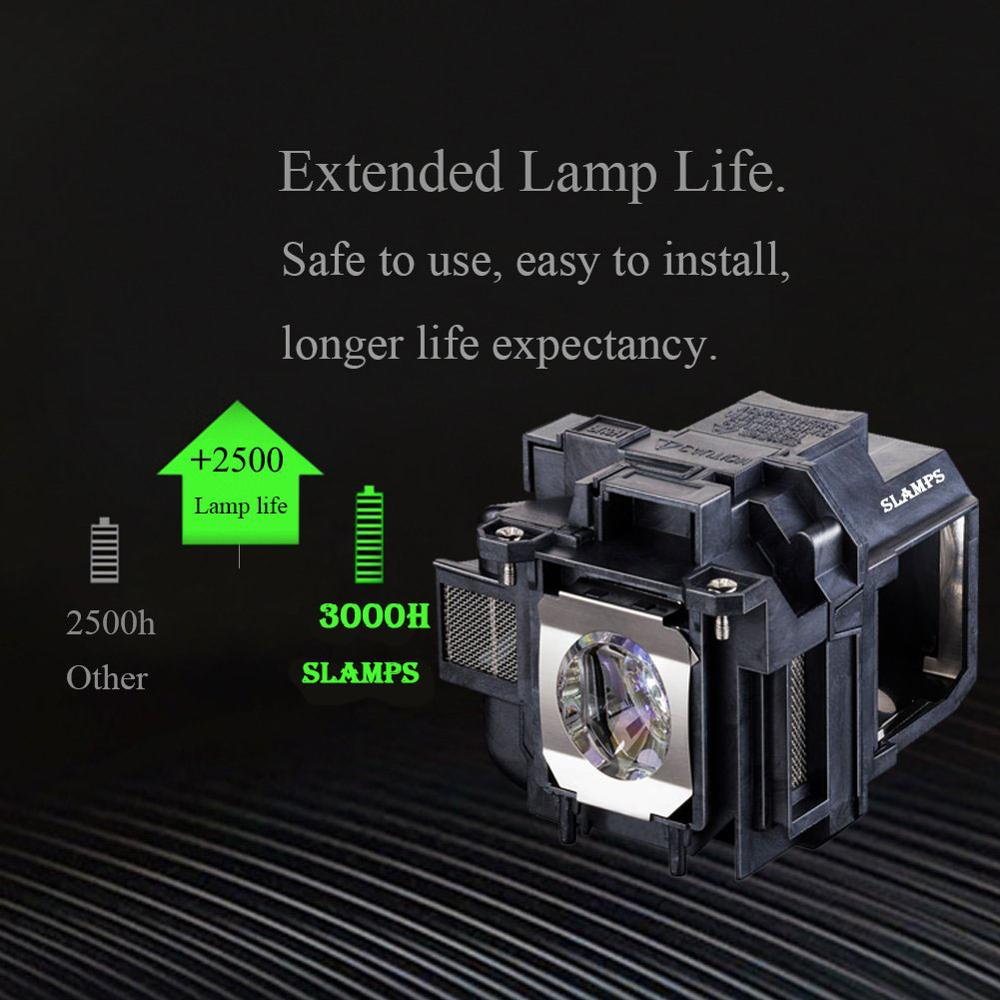 Image 2 - High Quality ELPLP88/V13H010L88 Replacement Projector Lamp for  EPSON Powerlite S27 EB S04 EB 945H EB 955WH EB 965H EB 98H EB  S31Projector Bulbs