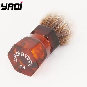 Image 2 - Yaqi 24mm מוקה אקספרס סינטטי שיער גילוח מברשת