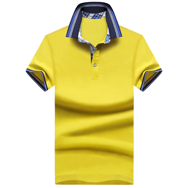 Plus Size M~5XL Brand New Men's   Polo   Shirt High Quality Men Cotton Short Sleeve shirt Brands jerseys Summer Mens   polo   Shirts
