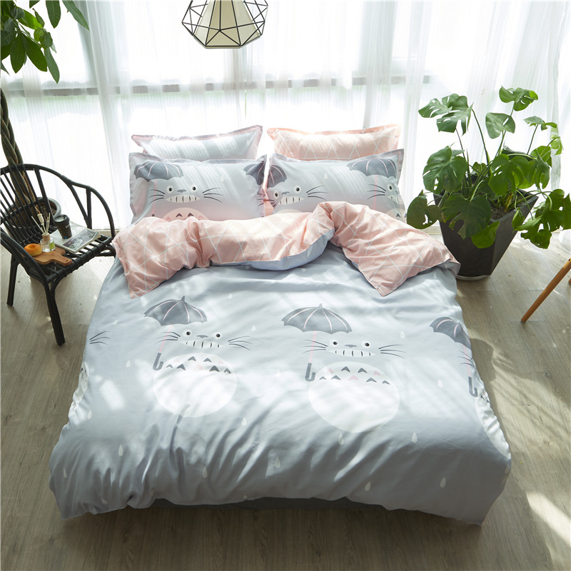 3/4pcs GragonBedding Set luxury Family Set Include Bed Sheet Duvet Cover Pillowcase girl Room Decoration Bedspread