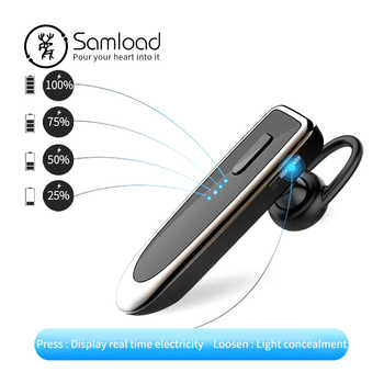 Samload wireless Bluetooth Earphone headset Noise-Canceling Business bluetooth Earphone Wireless  for a  handsfree Mobile phone - DISCOUNT ITEM  30% OFF All Category