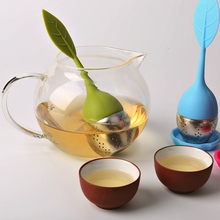 Teapot Sweet Leaf Tea Infuser best Silicone & Stainless Steel Leaf Tea Strainer Convenient Tea Filter Family Share