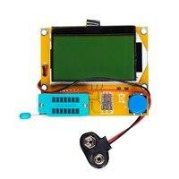 LCR T4 Transistor Tester LCD Display Diode Triode Capacitance ESR Meter MOS PNP NPN SCR Inductance
