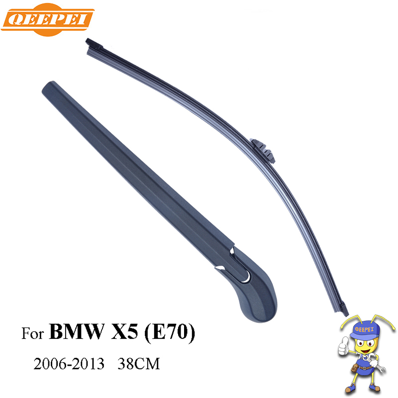 купить QEEPEI Rear Wiper Blade and Arm For BMW X5 E70 5-door SUV 38cm 2006-2013 Car Accessories For Auto Wipers RBW14-2A по цене 1121.28 рублей