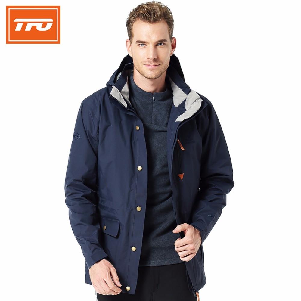 Tfo hombres senderismo hombre invierno chaqueta de caza ropa de hombre deportes