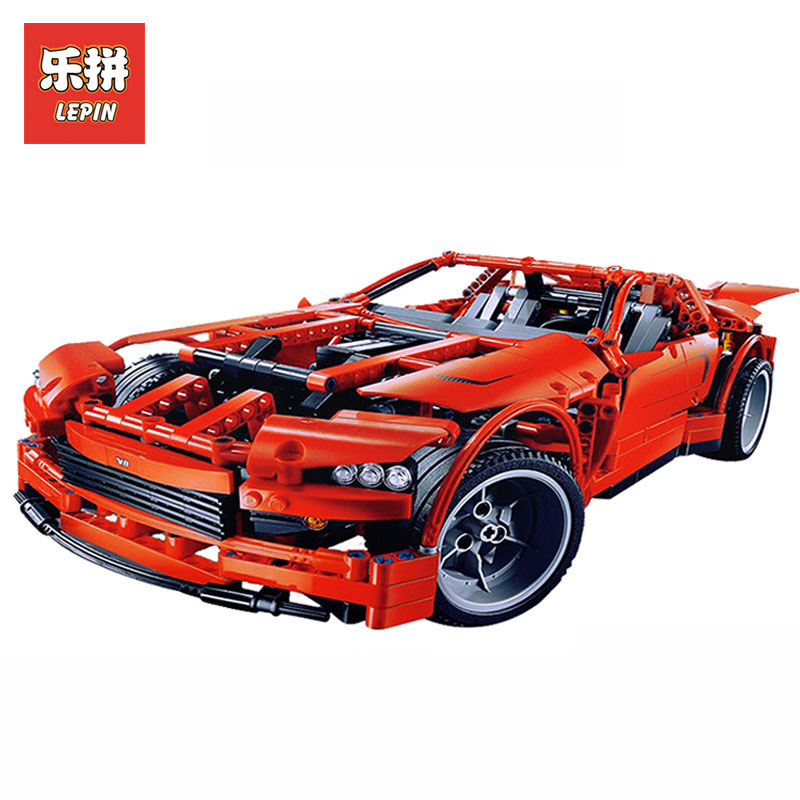 LEPIN 20028 Technic series 1281Pcs Genuine Super car Model Building kits Blocks Bricks LegoINGlys 8070 Toys for Children Gift building blocks super heroes back to the future doc brown and marty mcfly with skateboard wolverine toys for children gift kf197