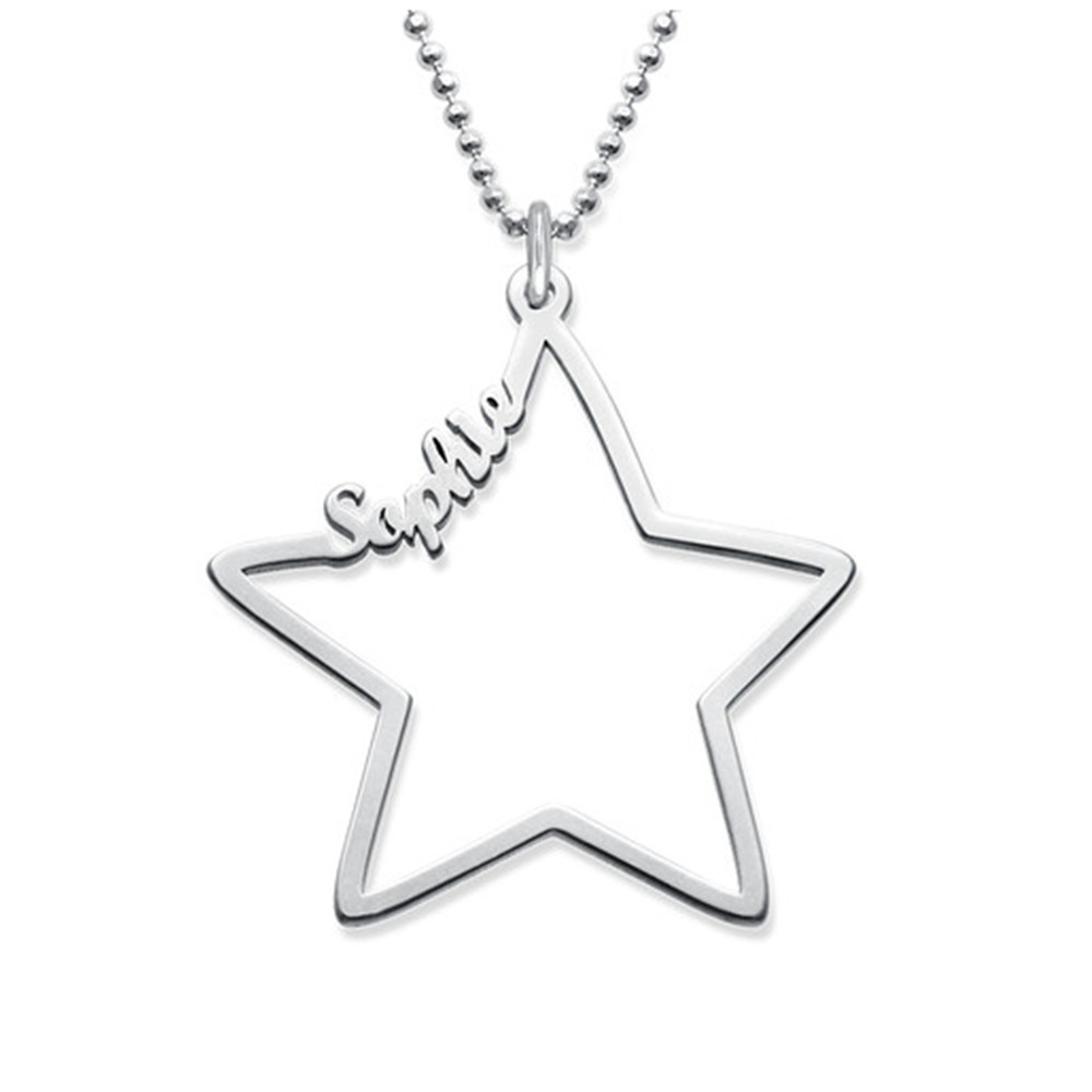 fire shape star wholesale jewelora sterling quality blue necklace product for high necklaces women beaded jewelry exquisite pendant wolf silver opal