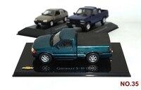 1/43 Model Car Toy 3pcs Car Metal Toy Diecasts Toy Vehicles Vintage Sport for CHEVROLET S 10/HYUNDAI TUCSON/CHEVROLET 3100