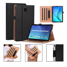 Case For Samsung Galaxy Tab S4 10.5 T830 SM-T835 T837 Smart Cover Funda Tablet Hand Holder Flip Stand Shell +Stylus+film