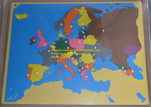 Buy personalized map puzzle and get free shipping on aliexpress enci europe map puzzle montessori materials earning wood gumiabroncs Image collections