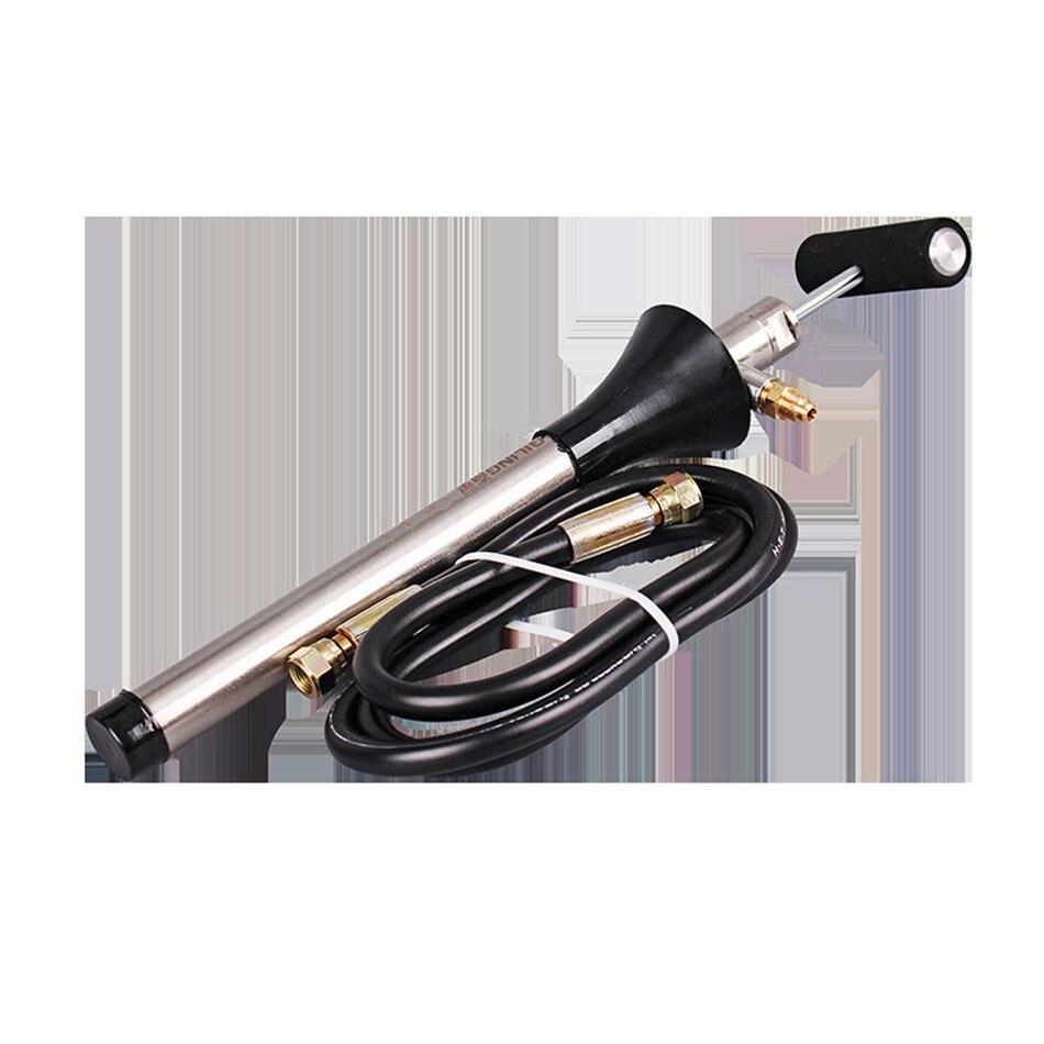 RSJ-1 climatisation centrale pompe à essence manuelle congélateur pompe à huile réfrigération à main