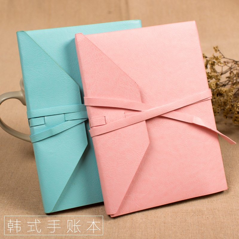 Leatherette Notebook Kraft Paper A5 Gift Cute Dotted Bullet Journal Bujo домкрат kraft кт 800026