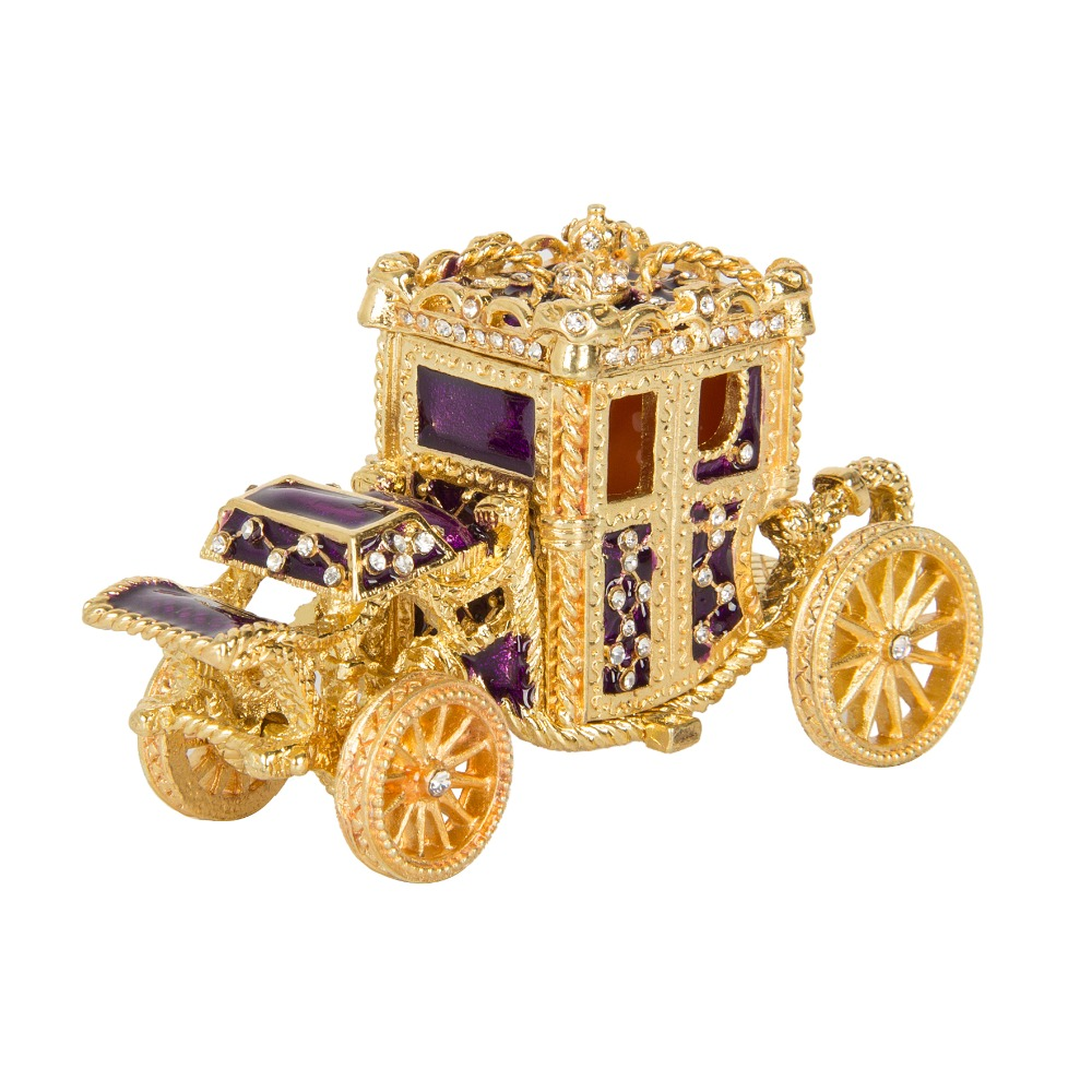 FLETCHER Brand Exquisite Small Royal Carriage Style for Jewelry Box