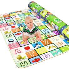 Baby Play Mat Toddler Crawl Non-Slip Reversible Waterproof Thick&Large Double Sides Portable Use for Outdoor/Indoor