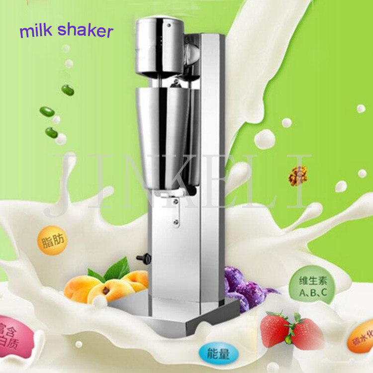 Milkshake machine Stainless Steel Milk Shake Machine single Head Drink mixer Make Milks Foam/Milkshake Bubble Tea Machine