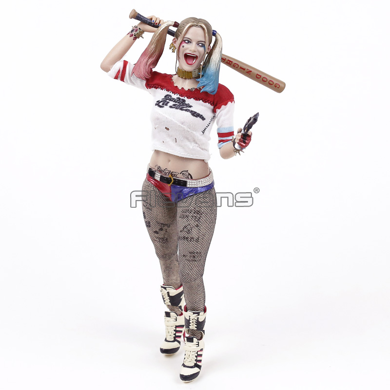 все цены на Crazy toys Suicide Squad Harley Quinn 1/6 th Scale Collectible Figure Model Toy 28.5cm