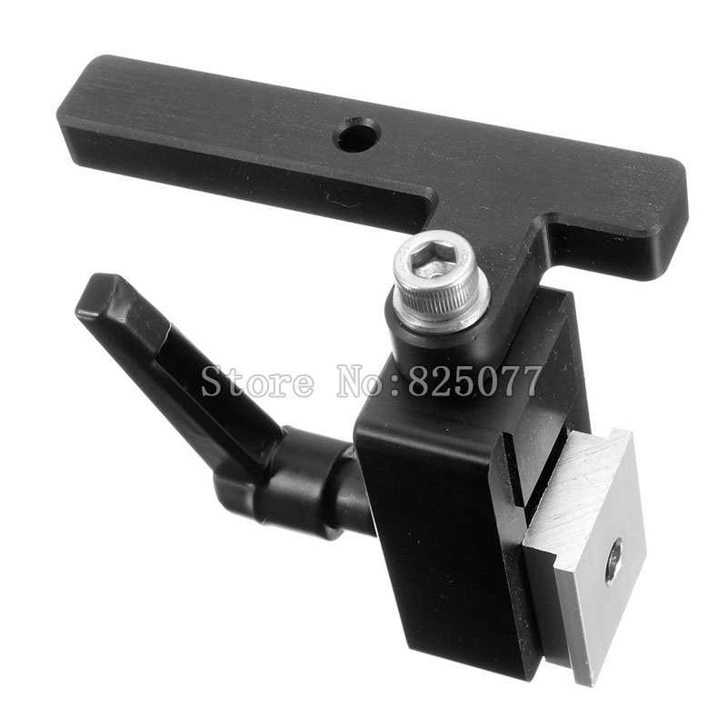 8PCS Miter Track Stop for T-Track T-Slot Woodworking DIY Tool JF1105 2pcs woodworking diy tool miter track stop for t track t slot jf1103