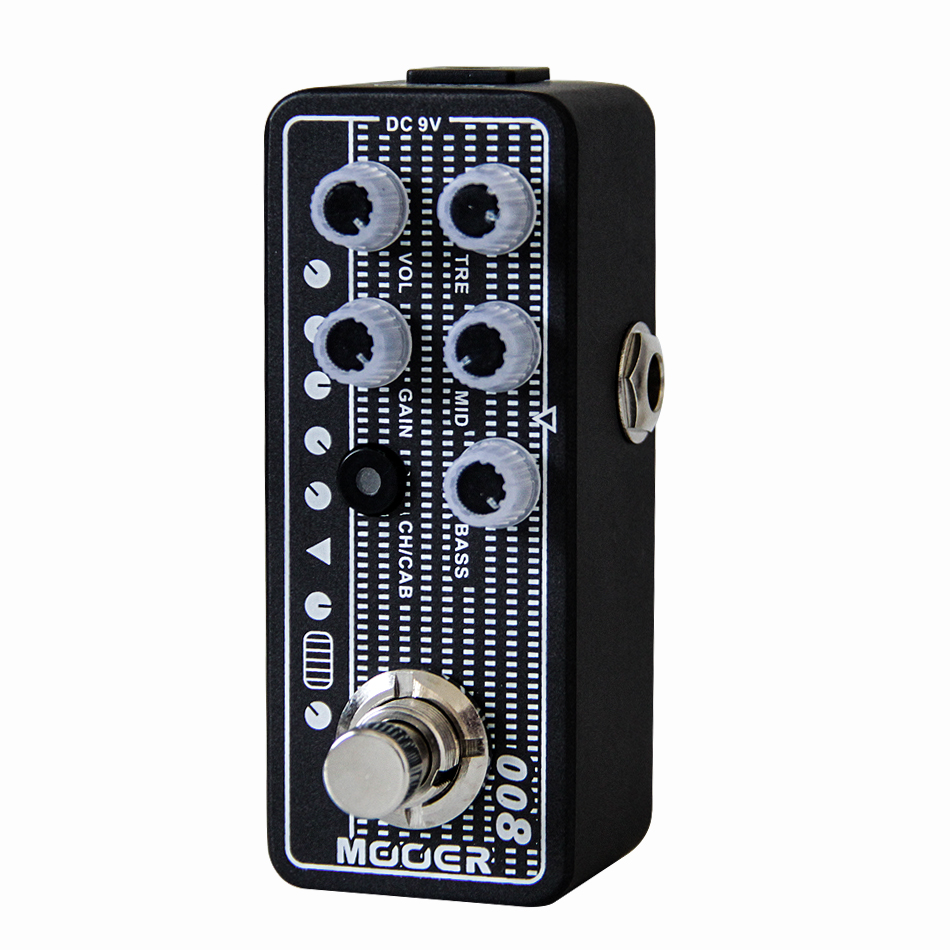 Mooer Micro Preamp 008 Cali-MK 3 Guitar Effects Pedal High Quality Dual Channel Guitar Pedal Guitar Accessories mooer 008 cali mk 3 high quality dual channel preamp 2 different modes for footswitch operation guitar effect guitar