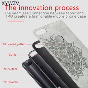 Image 3 - Xiaomi Mi 8 Lite Case Soft TPU Silicone Cloth Texture Hard PC Phone Case For Xiaomi Mi 8 Lite Back Cover For Xiaomi Mi 8 Lite