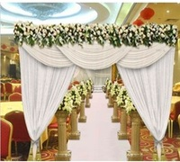 3 3m 10 10ft 3x6m White Other Color Ice Silk Fabric Wedding Party Restaurant Idea Door
