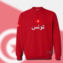 Tunisia Tunisian hoodies men sweatshirt sweat suit hip hop streetwear footballer sporting tracksuit nation TUN Arabic Tunisie
